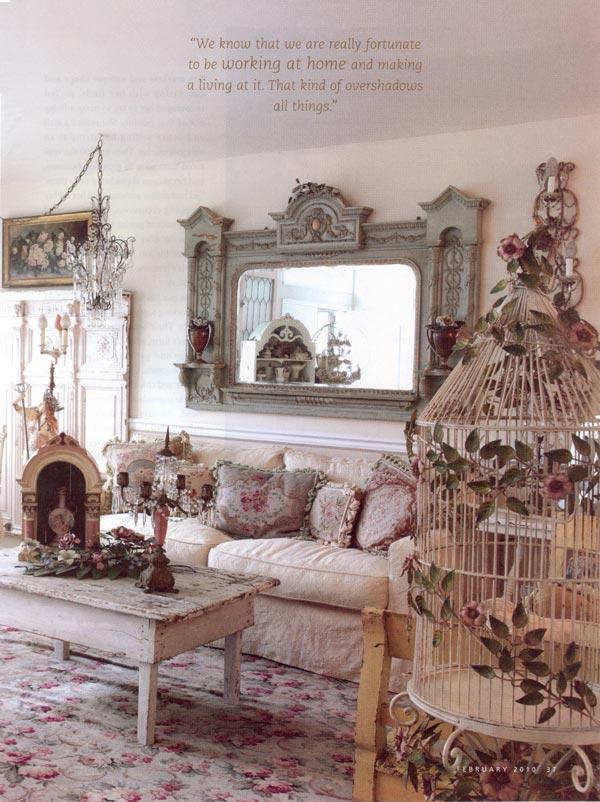 Romantic Homes Decorating: ShabbytownUSA Romantic Homes
